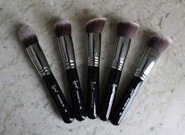 sigmax kabuki makeup brush kit review no affliation or