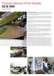 thames barrier studios print isn t dead element 001 by people of print issuu