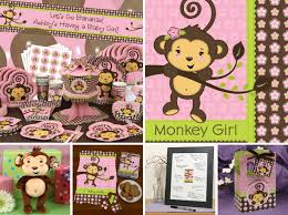 monkey decorations for baby shower monkey themed baby shower party favors diabetesmang info