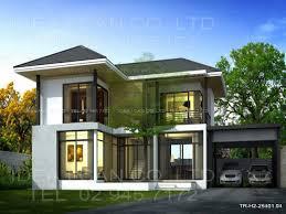 modern 2 story house plans modern contemporary house nice 2 story
