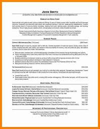 Sample Resume For Sous Chef Resume For Chef Chef Resume Sample Examples Sous Chef Jobs Free