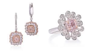 pink diamond earrings lugano diamonds presents pretty in pink jewelry robb report