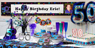 Centerpieces 50th Birthday Party by The Party Continues 50th Birthday Party Supplies Party City