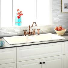 How To Clean White Porcelain Kitchen Sink White Porcelain Kitchen Sink For Vintage Cast Iron White Porcelain