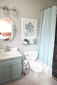 Easy Small Bathroom Design Ideas - blue small bathroom makeovers easy small bathroom makeovers