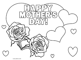 coloring pages mothers day flowers awesome printable day coloring pages for kids coolbkids pict of