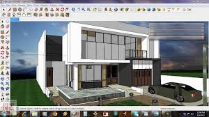 Home Design Using Sketchup by Google Sketchup Tutorial 15 Daytime Vray Exterior Setting Youtube