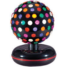 Halloween Light Show Party Rock by Disco Balls