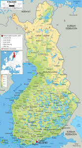 Physical Map Of Europe by Maps Of Finland Map Library Maps Of The World