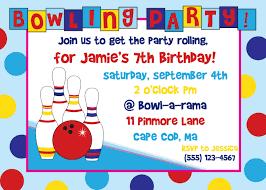 Free Printable Birthday Invitation Cards Templates Free Printable Bowling Birthday Party Invitations Cimvitation