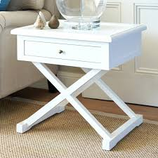 cross leg coffee table white cross leg side table