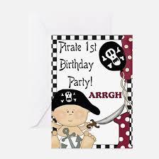 pirate birthday greeting cards cafepress