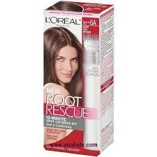 light ash brown hair color l oreal paris root rescue hair color 6a light ash brown addros com