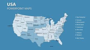 Continental United States Map by United States Of America Maps United States Of America