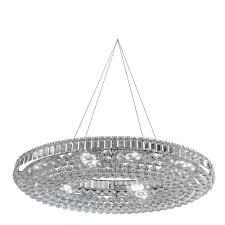 9190cc vesuvius 24 light chrome u0026 crystal pendant
