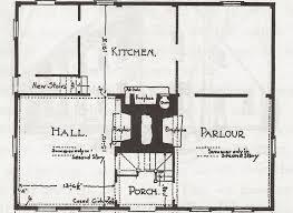 center colonial floor plans antique colonial house plans