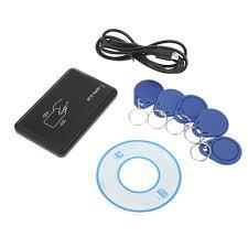 125khz rfid card reader u0026writer u0026copier usb proximity sensor smart