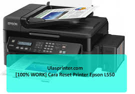 printer epson l210 minta reset 100 work cara reset printer epson l550
