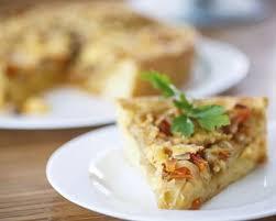 cuisiner choux blanc recette tarte au chou blanc bacon et miel facile rapide