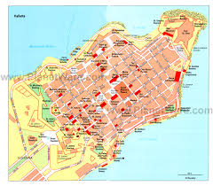 St John Map 12 Top Rated Tourist Attractions In Valletta Planetware