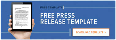 how to write a press release free 2017 press release template