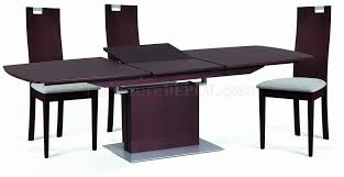 Pedestal Bases For Dining Tables Burn Beech Modern Dining Table W Pedestal Base Optional Chairs