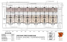 townhomes floor plans park shore townhomes orlando