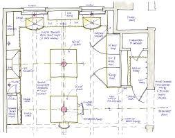 kitchen floor plans island inspiring kitchen floor plan ideas with island ideas best ideas
