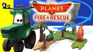 disney planes fire rescue wildfire rescue playset tractor