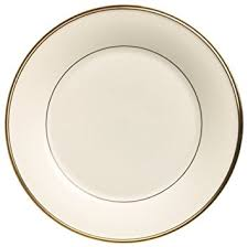 lenox eternal gold banded ivory china dinner plate