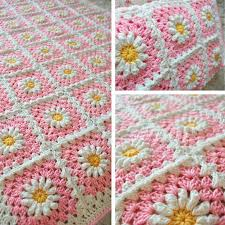 free pattern granny square afghan free pattern pink shasta daisy blanket i saw one made where