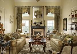cozy living room with artistic painting and tuscany look tuscan
