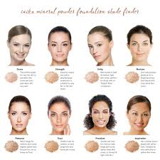 light medium skin tone inika mineral foundation powder freedom medium dark beige