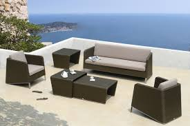 better homes and gardens outdoor furniture brown rattan garden