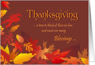 give thanks thanksgiving cards from greeting card universe