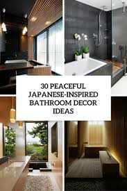 Bathrooms Decoration Ideas 30 Peaceful Japanese Inspired Bathroom Décor Ideas Digsdigs