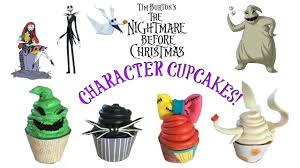 nightmare before christmas cupcake toppers easy the nightmare before christmas cupcakes inspire