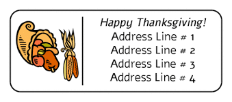 free thanksgiving label templates and printables for turkey day