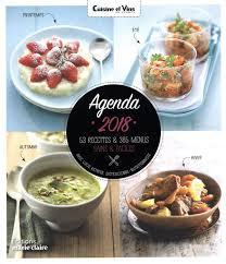 cuisine et vins de recette agenda cuisine et vins de 2018 distribution prologue
