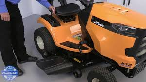 how to remove the cutting deck on xt enduro series riding mowers