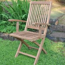 Folding Armchair Teak Folding Chair