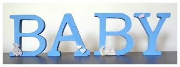 diy nursery wall letters