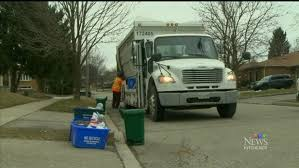 garbage collection kitchener fewer trucks on the road as biweekly garbage begins ctv