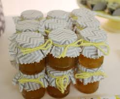 jar baby shower ideas yellow gray chevron baby shower ideas elephant theme crafty