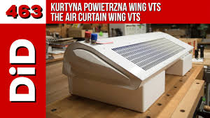 the air curtain wing vts youtube