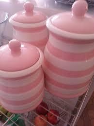 pink kitchen canister set vintage pink kitchen metal canister set shabby chic pink white