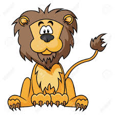 cartoon drawing lion showing post media for cute lion drawing