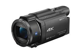 buy sony fdr ax53 4k ultra hd camcorder black free delivery
