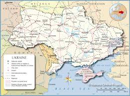 russia map border countries political map of ukraine nations project