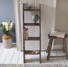 Wood Shelving Units by Furniture Wooden Ladder Shelving Units For Your Inspirations